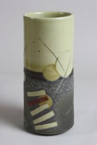 Cream stone Vase